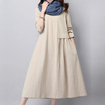 Happy Hour Linen Dress