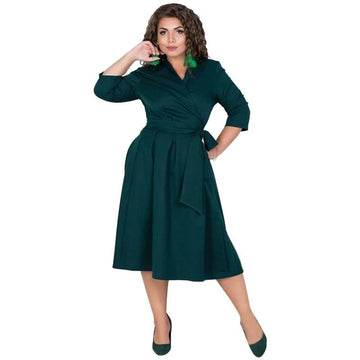 Elegant Ways Plus Size Dress