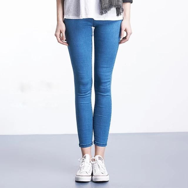 Feeling Cozy Plus Size Denim Jeggings