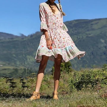 Stepping Out Boho Dress