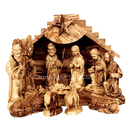Nativity Set - Small - Jindab