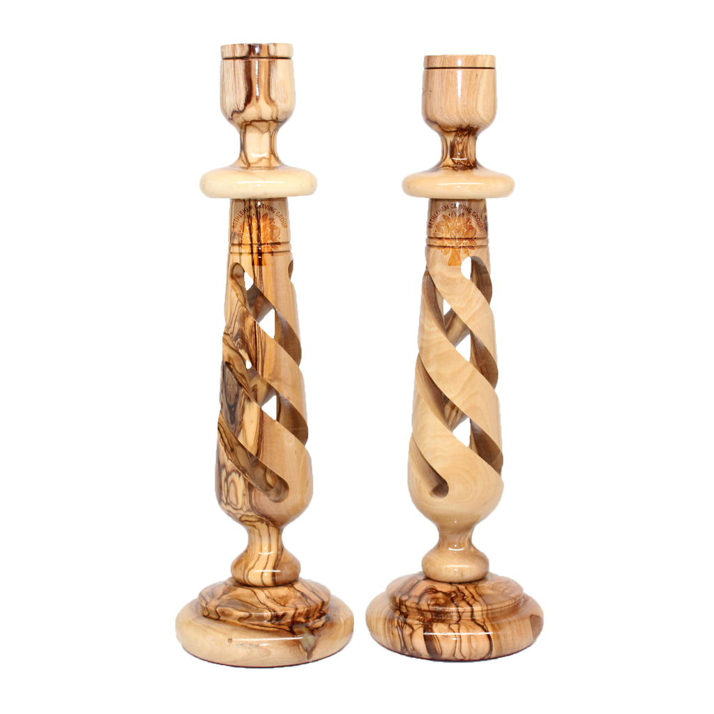 Candle Holder - Pair 10""