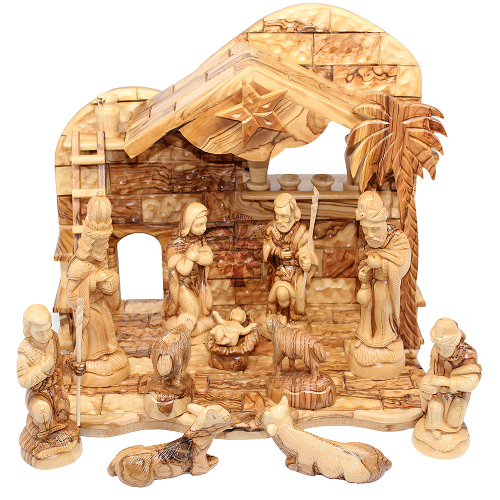 Nativity Set - Classic - Farisi 12.5""