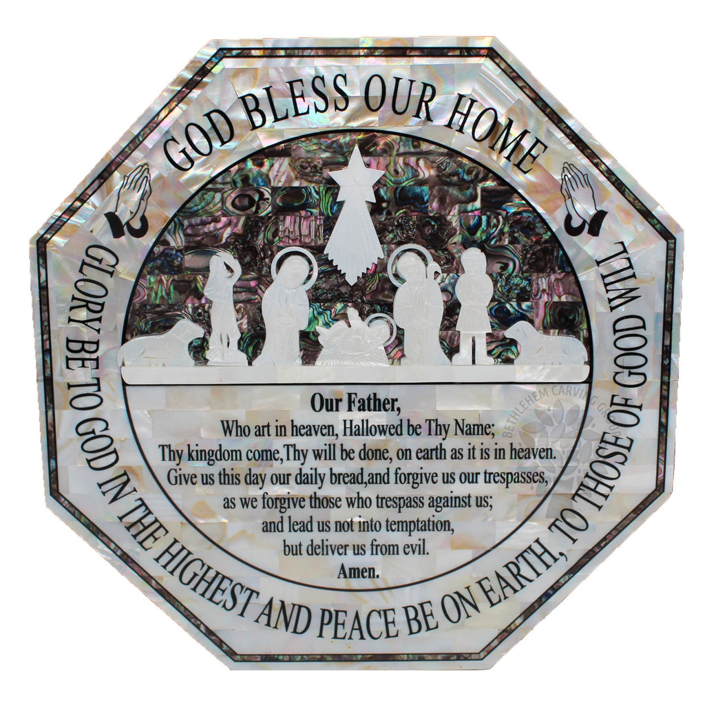 God Bless - Mother of Pearl 11""