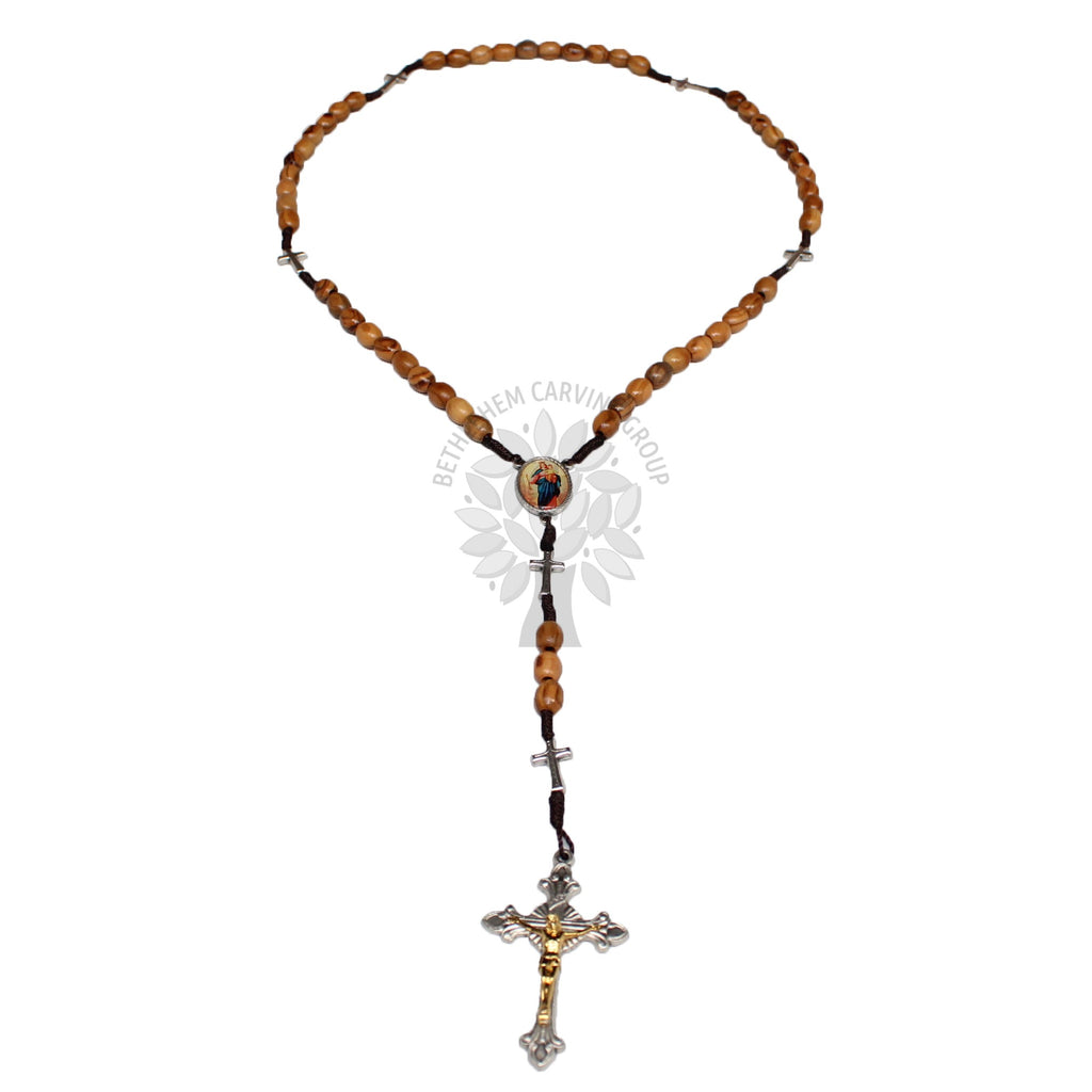 Rosary - Olive Wood - Medium