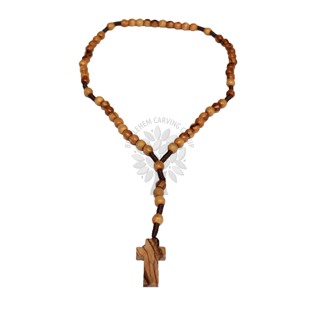 Rosary - Wooden Cross - Small