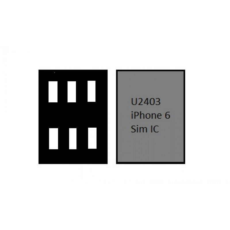 SIM IC IPHONE U2403