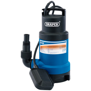 Draper 750W Dirty Water Pump With 32mm Layflat Hose