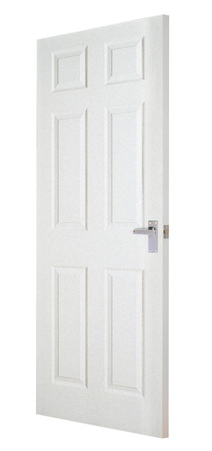 6 Panel Regency Door With Grain