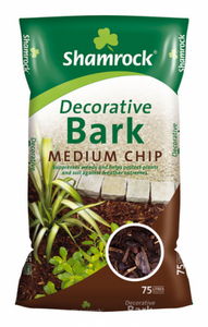 Shamrock Medium Chip Bark 75 litre
