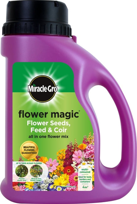 Miracle-Gro Flower Magic Flower Seeds, Feed & Coir