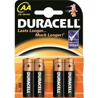 Duracell AA Battery (Card of 4)
