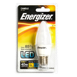 Energizer LED 5.9W (40W) Opal Candle Lamp - Warm White