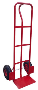 Red P-Handle Hand Truck