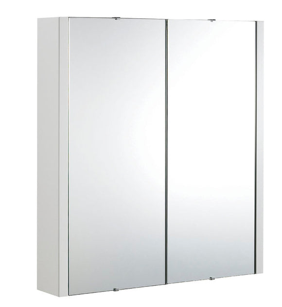 600mm 2 Door Turin Mirror Cabinet