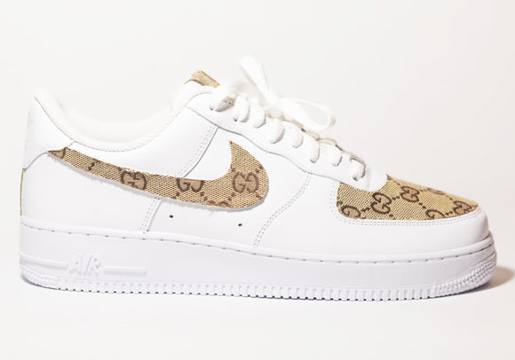 Nike Air Force 1 Custom 'Gucci' Edition