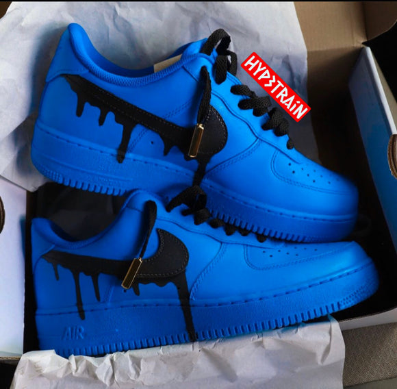 Custom Nike AF1 'Blue' Edition