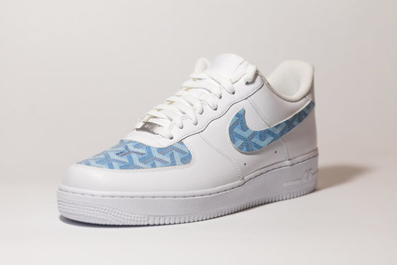 Nike AF1 Custom 'Baby Blue' Premium Edition