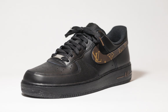 Nike AF1 Custom 'Louis Vuitton' Black OG Premium Edition