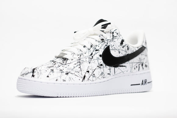 Nike AF1 Custom 'Barbed Wire' Edition
