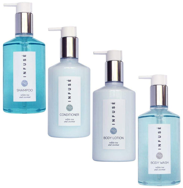 H2O Tropical Infuse Amenities Set | 10.14 oz. (1 of Each)