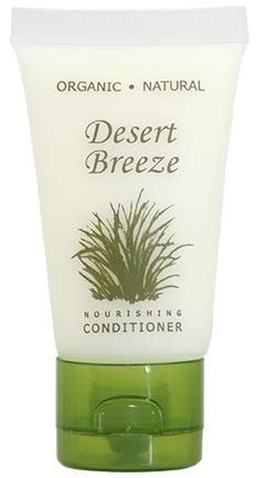 Desert Breeze Conditioner, Travel Size Hotel Toiletries, 1 oz. (Case of 20)