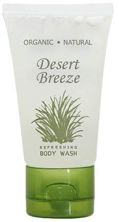 Desert Breeze Body Wash, Travel Size Hotel Toiletries, 1 oz (Case of 20)