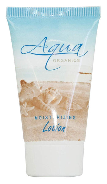 Aqua Organics Lotion, Travel Size Hotel Amenities, 1 oz (Case of 20)