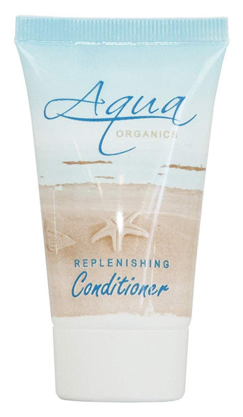 Aqua Organics Conditioner, Travel Size Hotel Amenities, 1 oz (Case of 20)