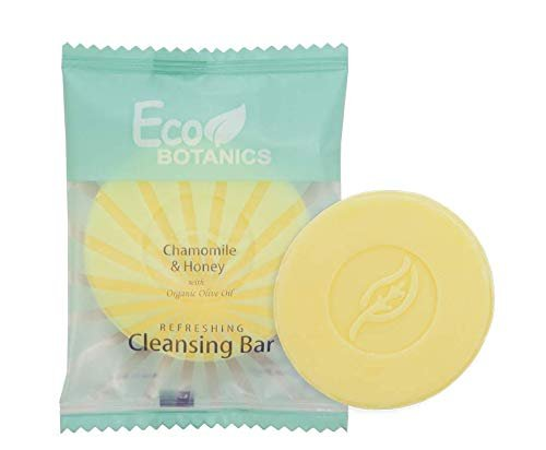 Eco Botanics Travel-Size Hotel Cleansing Bar Soap.5 oz (Case of 100)