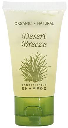 Desert Breeze Shampoo, Travel Size Hotel Toiletries, 1 oz. (Case of 20)