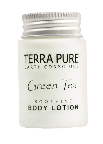 Terra Pure Body Lotion, Travel Size Hotel Amenities, 1 oz (Case of 20)