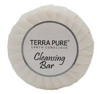 Terra Pure Aloe and Olive Oil Bar Soap, Travel Size Hotel Amenities, 0.6 oz (Pack of 300)