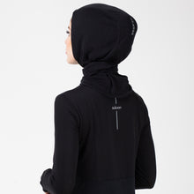 Load image into Gallery viewer, HAWA HIJAB - Deep Black