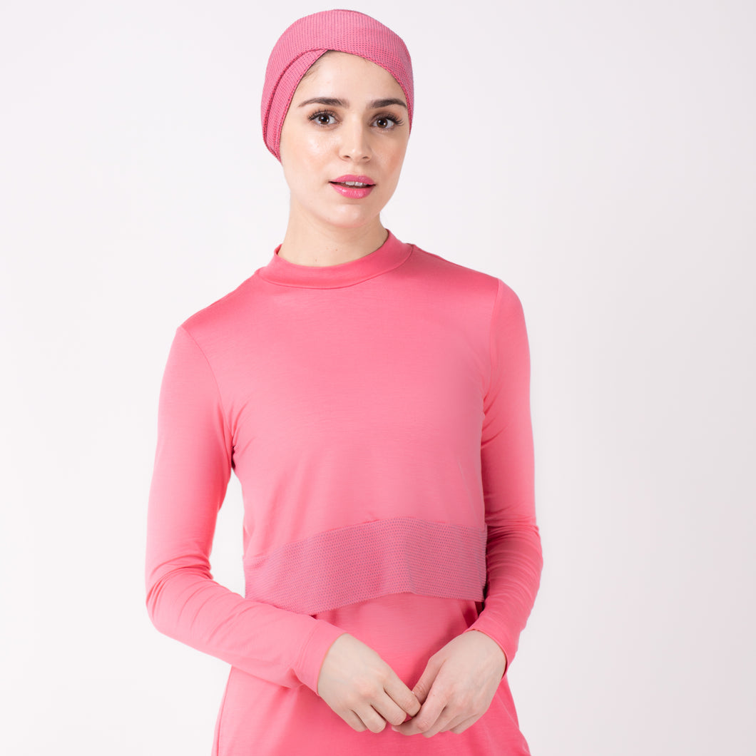 HAWA HEADWRAP - Berry Pink