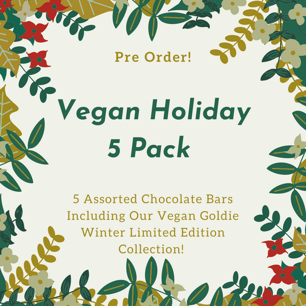 Vegan Holiday Gift Pack - PREORDER - Save $5