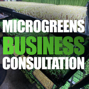 Microgreens Business Consultation With Donny Greens