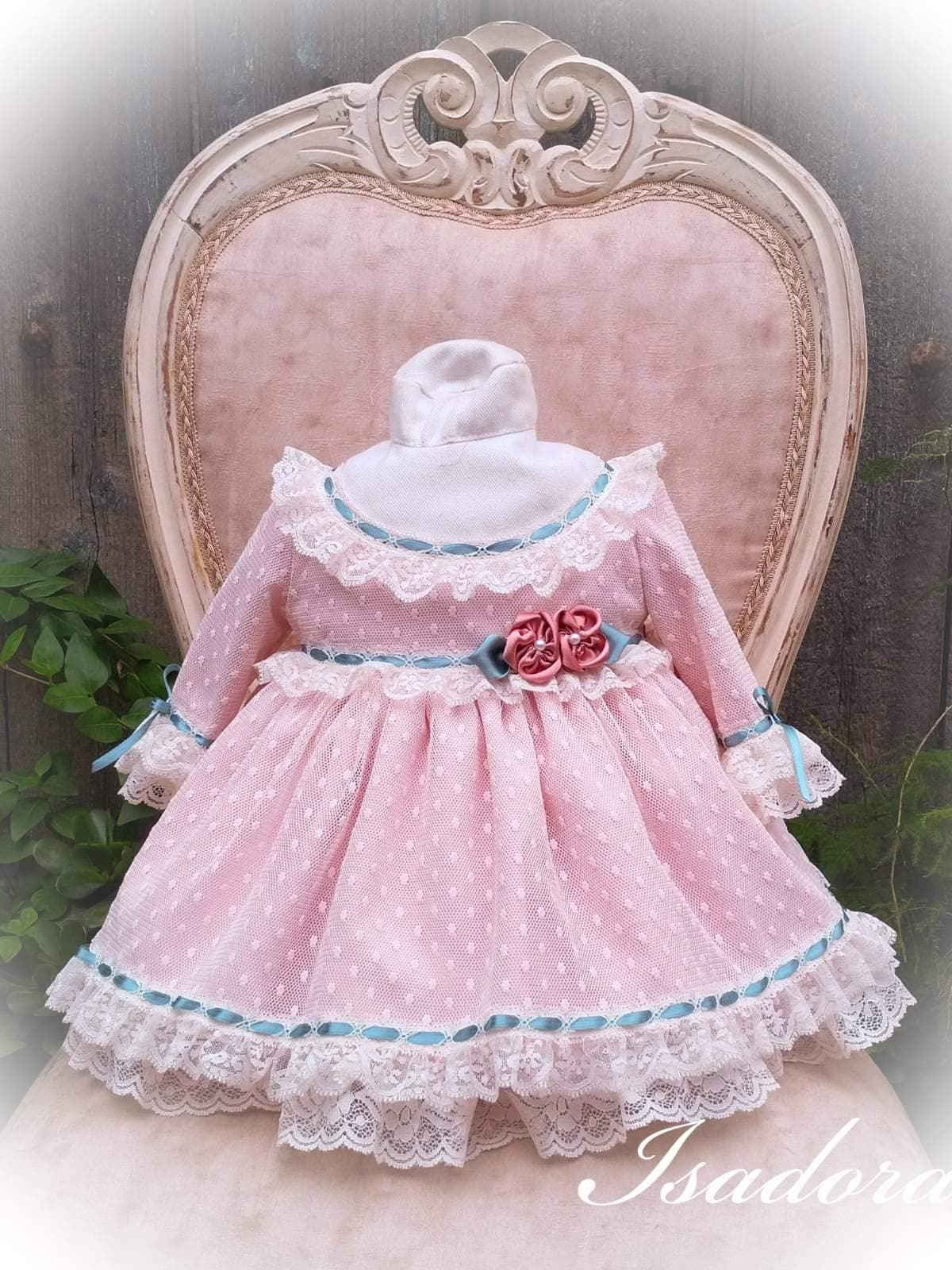Exclusive Baby Girls Dress Exclusive Isadora Puffball Dress & Knickers