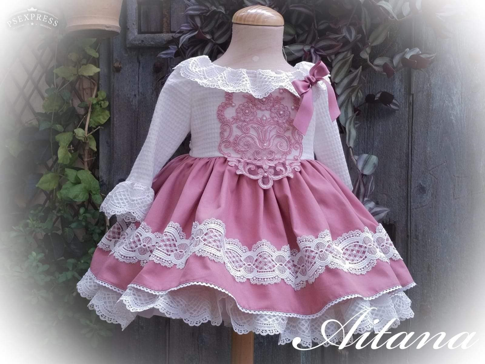 Exclusive Girls Dresses Exclusive Aitana Handmade to Order Dress