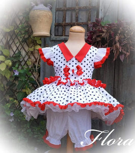 Exclusive Girls Dresses Exclusive Flora Dress & Bloomers - Handmade to Order