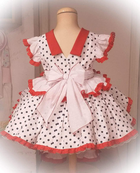 Exclusive Girls Dresses Exclusive Floral Dress & Bloomers - Handmade to Order