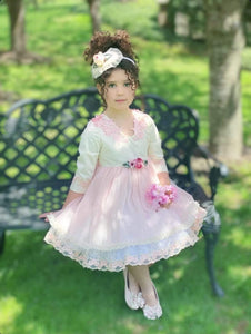 Exclusive Girls Dresses Exclusive Handmade to Order Celine Dress