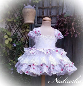Exclusive Girls Dresses Exclusive Handmade to Order Nadiuska Dress