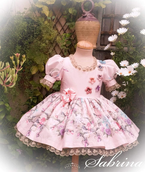 Exclusive Girls Dresses Exclusive Handmade to Order Sabrina Dress