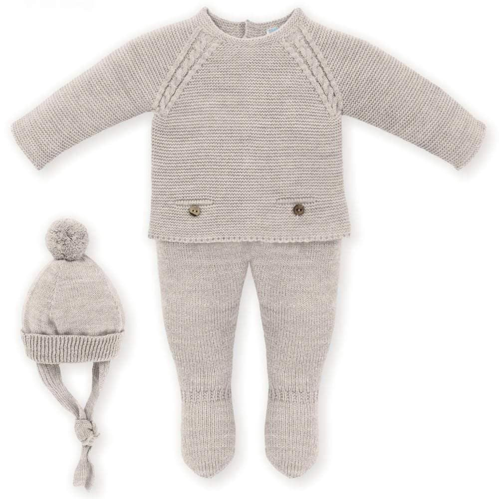 Mac Ilusion Baby Knitwear Mac Ilusion AW20 PRE-ORDER - Three Piece Knitted Suit Trenz Espression Variety of Colours