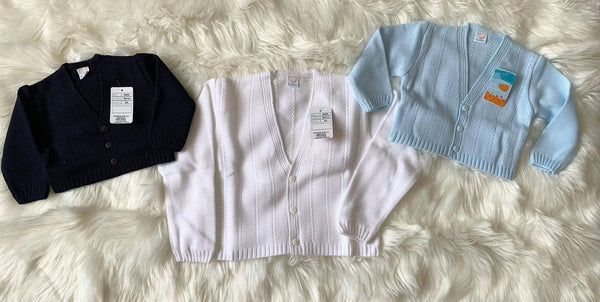 Mariposa Children's Boutique Clearance Sale Boys Blue Cardigan