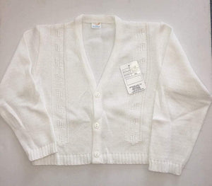 Mariposa Children's Boutique Clearance Sale Boys White Cardigan