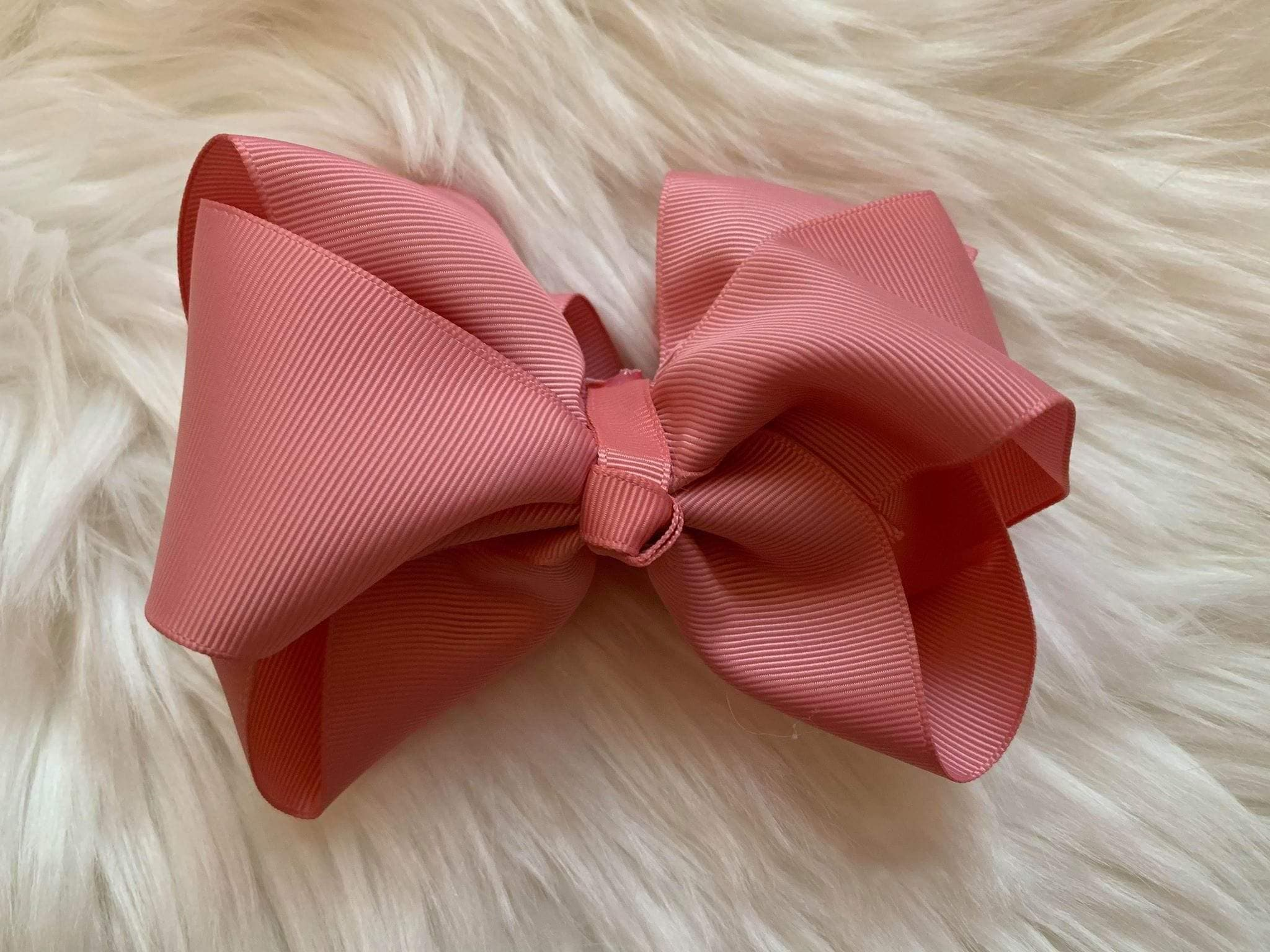 Mariposa Children's Boutique Hairbow Hairbow Dusky Pink 6""