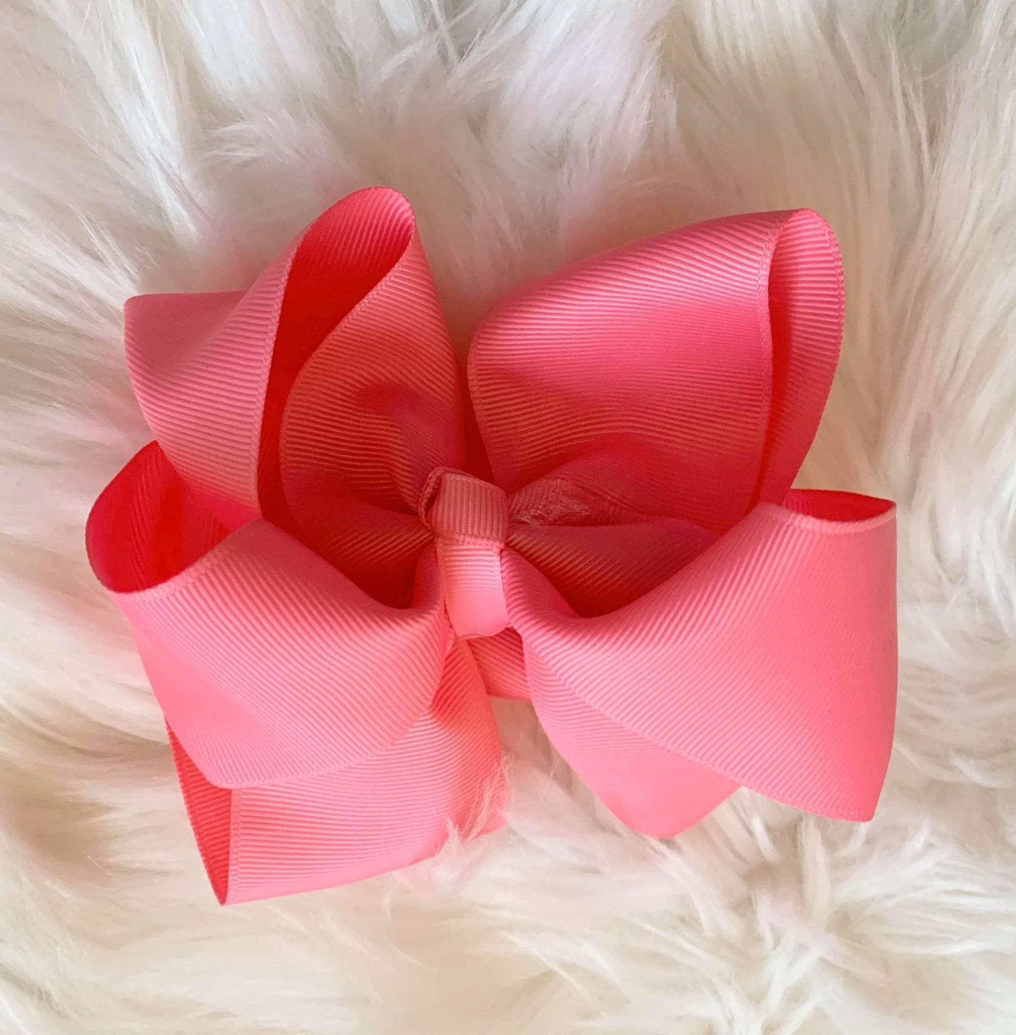 Mariposa Children's Boutique Hairbow Hairbow Hot Pink 6""
