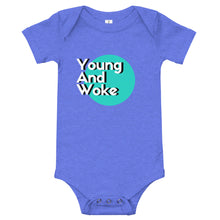Load image into Gallery viewer, Young And Woke Baby Bodysuit